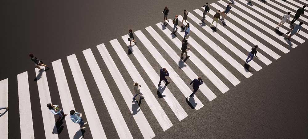 Pedestrian Lane Marking