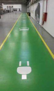 Garage Marking Green
